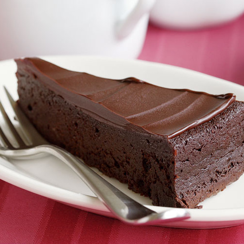 Flourless Chocolate Cake With Chocolate Glaze Fine Cooking