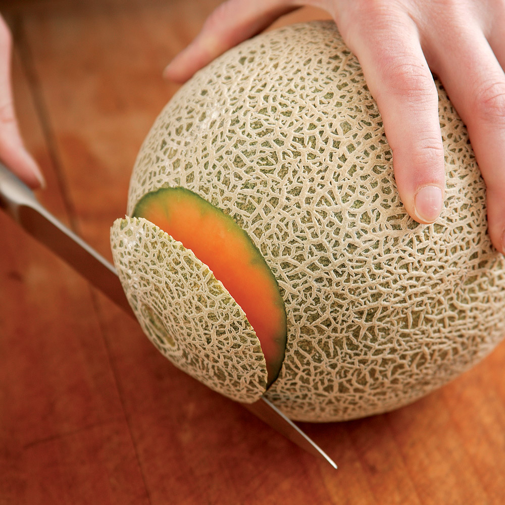 Cantaloupe Ingredient Finecooking Ripe cantaloupes are likely to have that spectacular cantaloupe aroma—but not in an overpowering way. cantaloupe ingredient finecooking