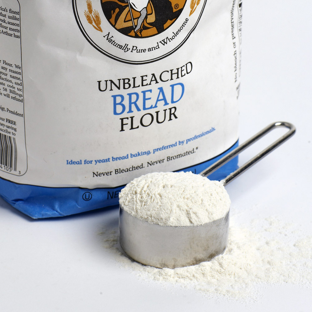 how to make bread flour using all purpose flour