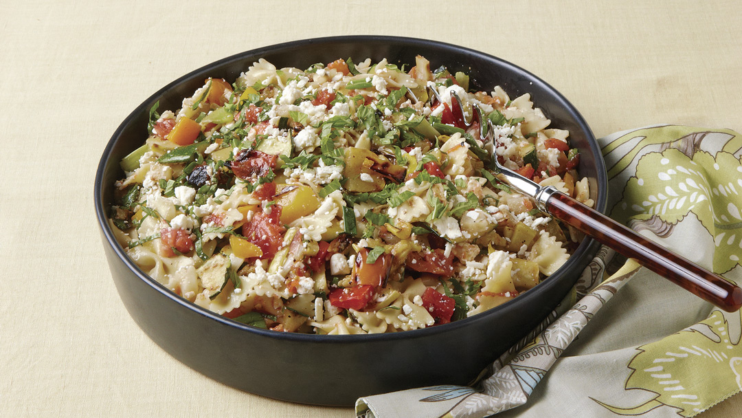 Grilled Farmers' Market Pasta
