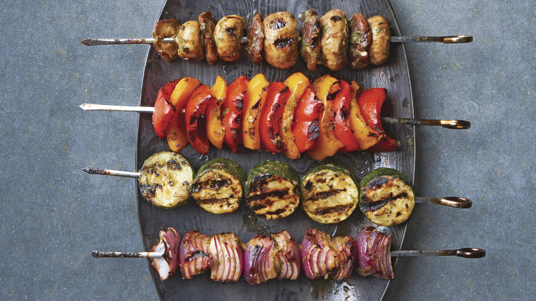 Miso-Marinated Grilled Vegetables
