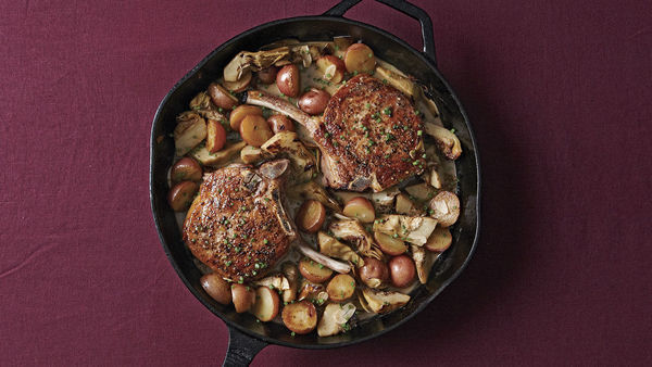 how to cook pork chops to