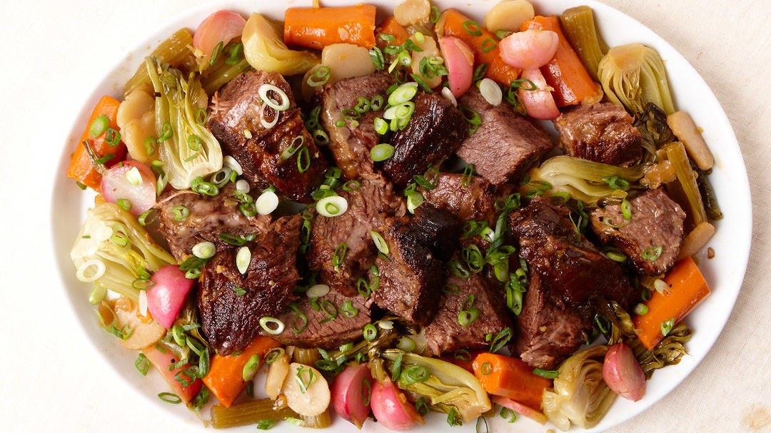 Asian Style Beef Pot Roast Recipe Finecooking