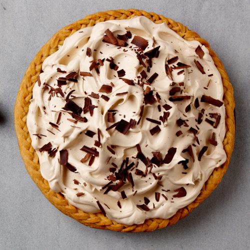 chocolate espresso cream pie