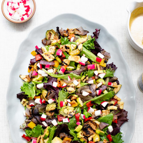 Maille Grilled Vegetable Salad
