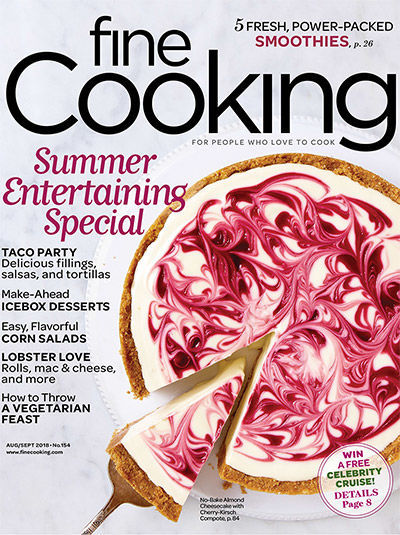 Fine Cooking Magazine - August/September 2018