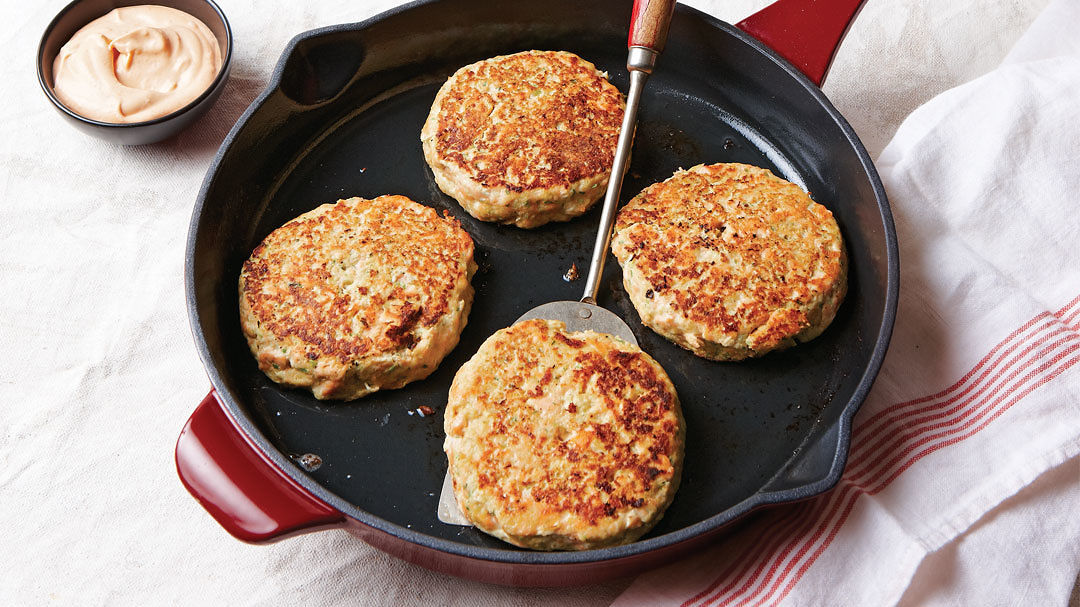 Thai-Spiced Salmon Cakes