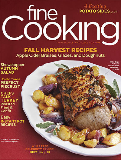 Fine Cooking Magazine - October/November 2018