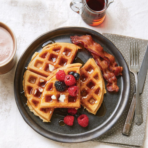 Brown-Butter Waffles