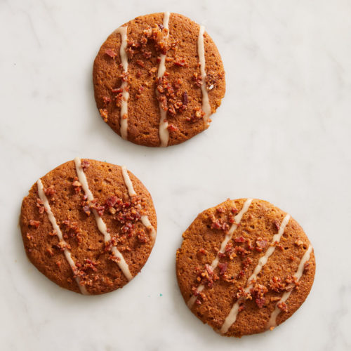 Maple Bacon Ginger Cookies