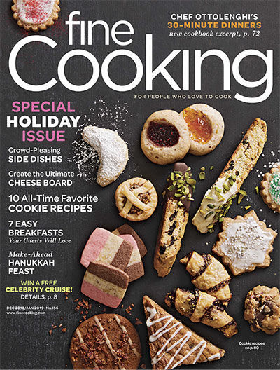 Fine Cooking Magazine - December 2018/January 2019