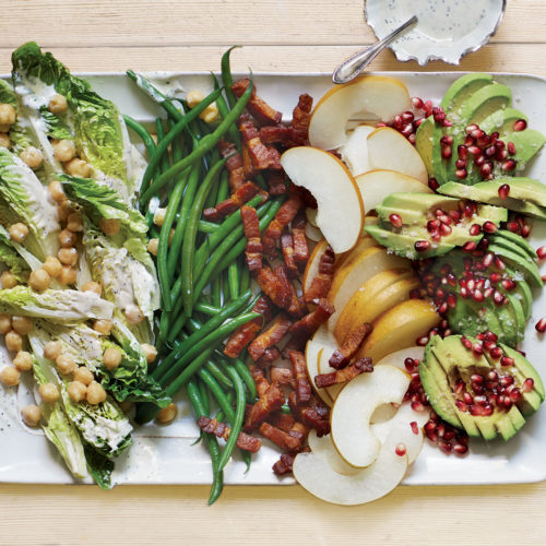 Winter Fruit Cobb Salad