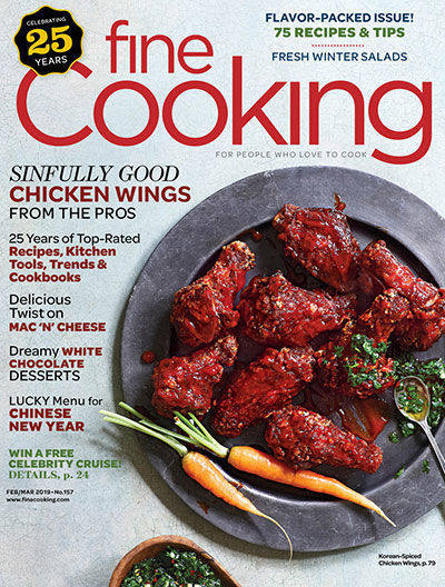 Fine Cooking Magazine - February/March 2019