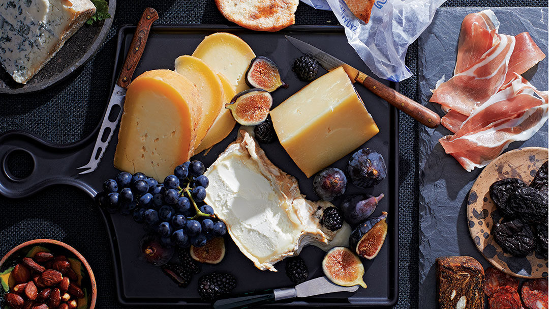 Spanish Cheese Platter