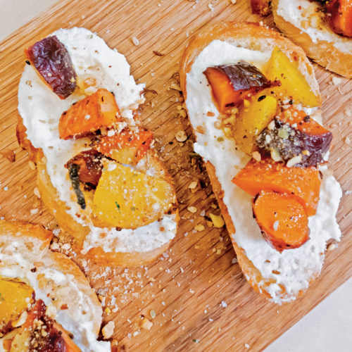 carrot crostini recipe