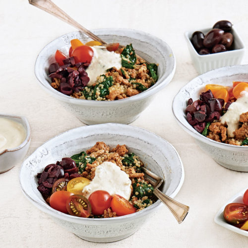 Turkey Quinoa Bowl