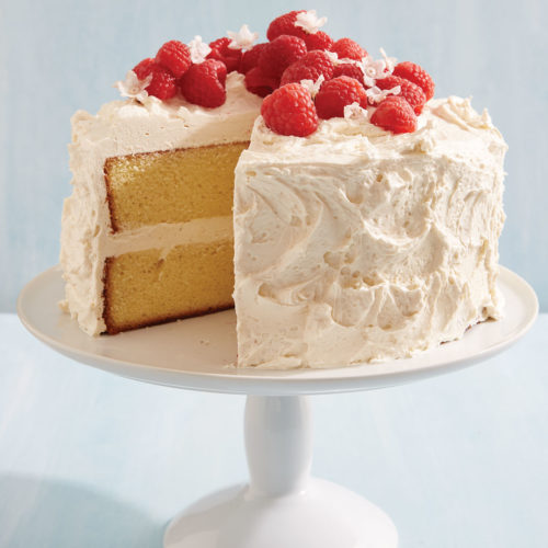 White Chocolate Layer Cake