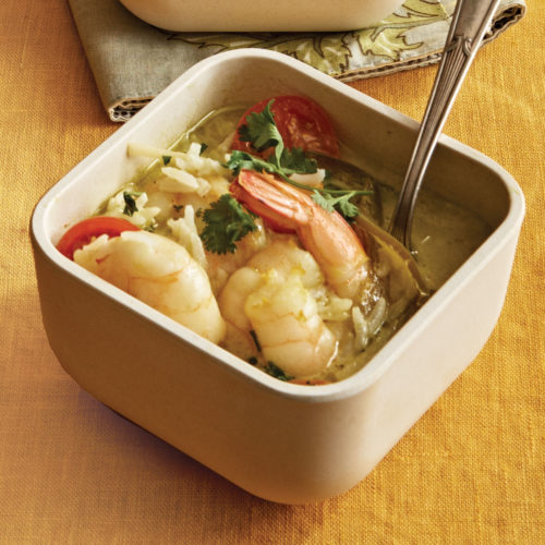 Curried Coconut Shrimp Soup