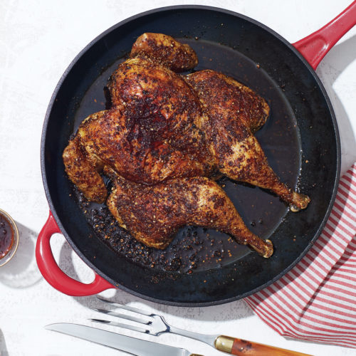 cast-iron roast chicken