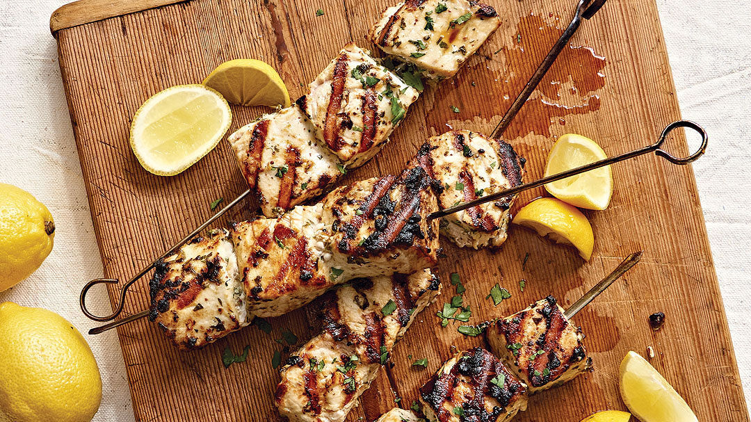 Swordfish Brochettes