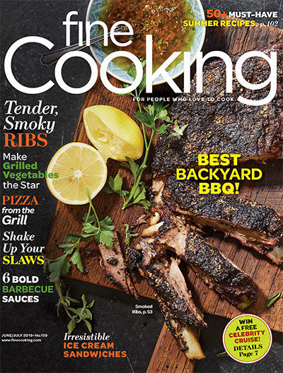 Fine Cooking Magazine - June/July 2019