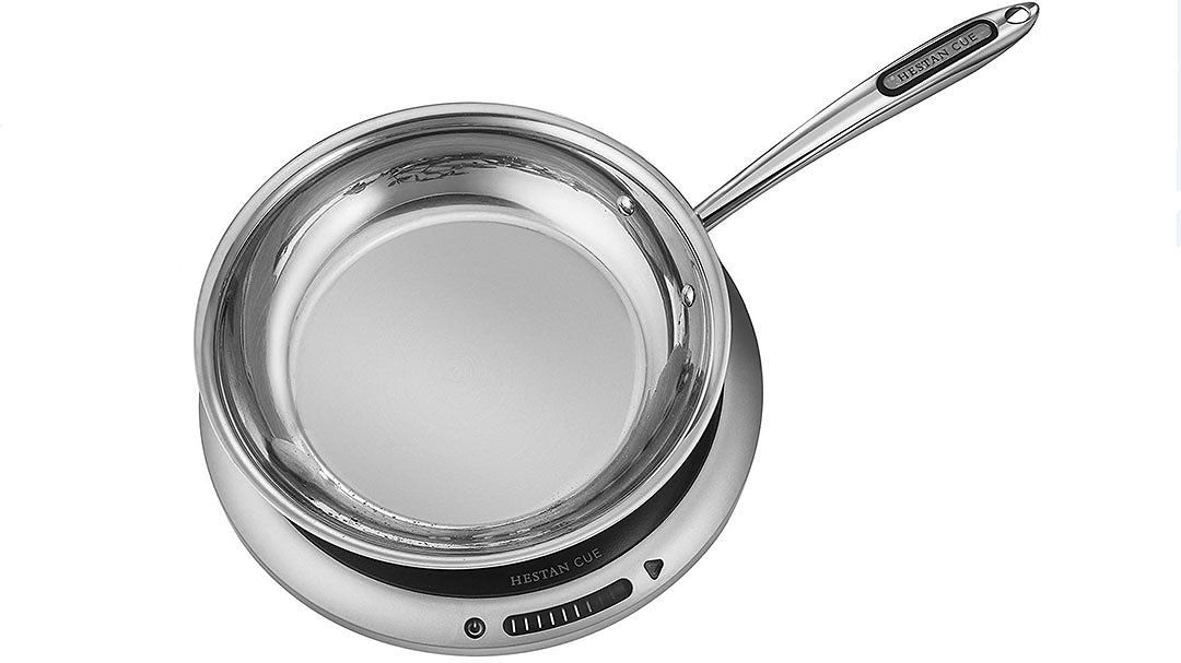 Hestan Cue Countertop Induction Burner and Pan