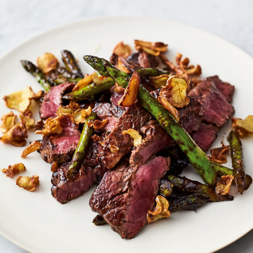 Steak Asparagus Stir-Fry