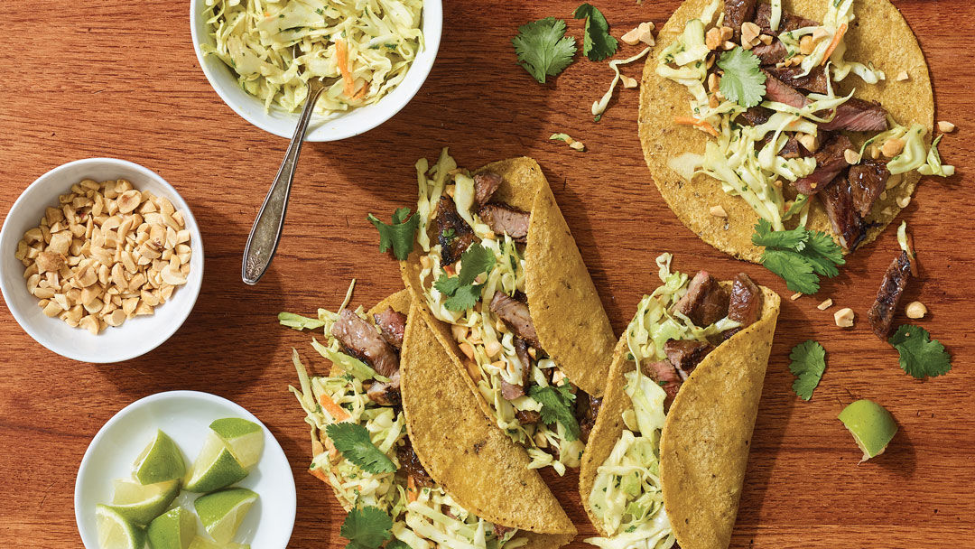Grilled Curried Short-Rib Tacos