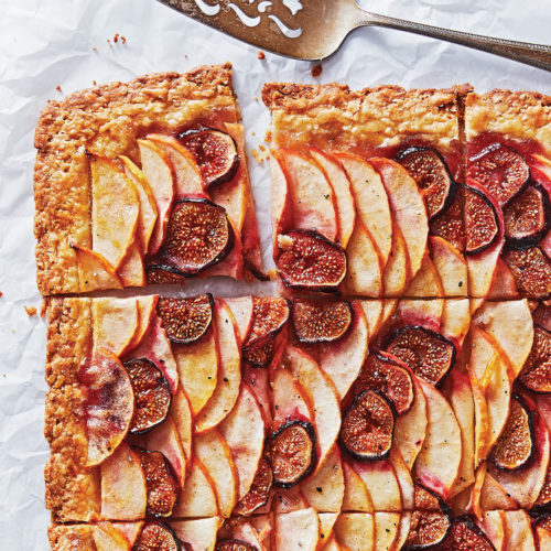 apple-fig tart