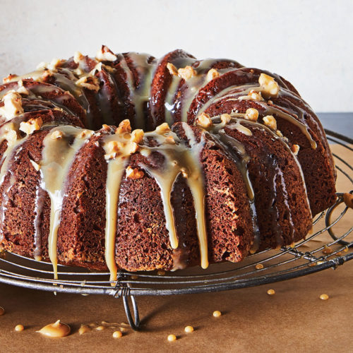 coffee cream bundt cake