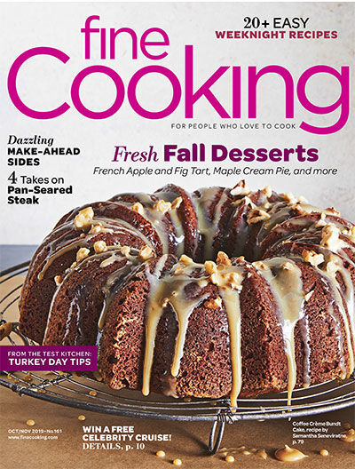Fine Cooking Magazine - October/November 2019