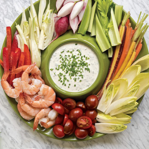 Ranch Crudite