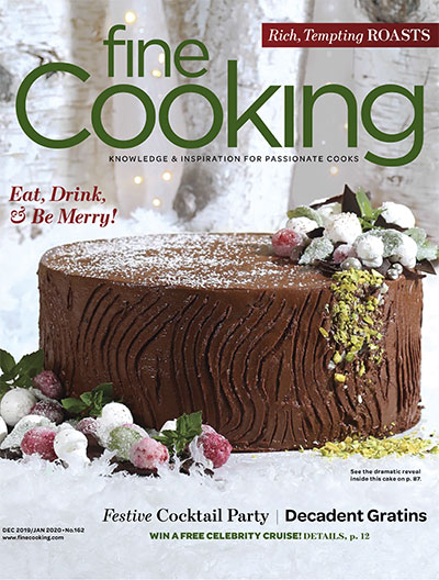 Fine Cooking Magazine - December 2019/January 2020