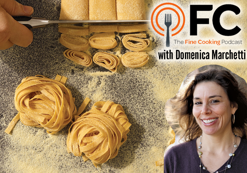 Podcast Episode 28: Italian Food from Scratch with Domenica Marchetti
