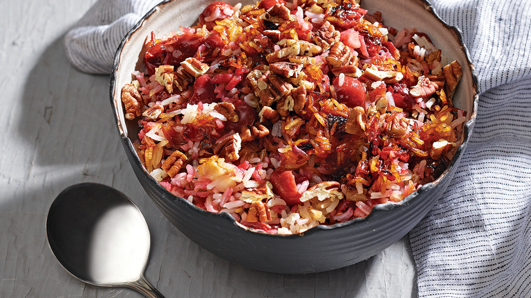 Sour Cherry Persian Rice