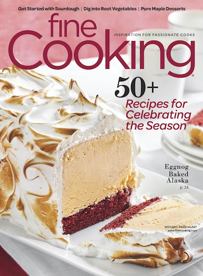 Fine Cooking Magazine - November/December 2020