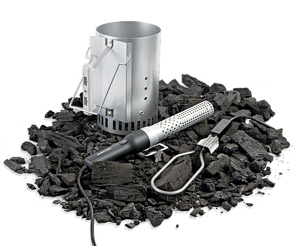 Three Tools For Lighting Charcoal Article Finecooking