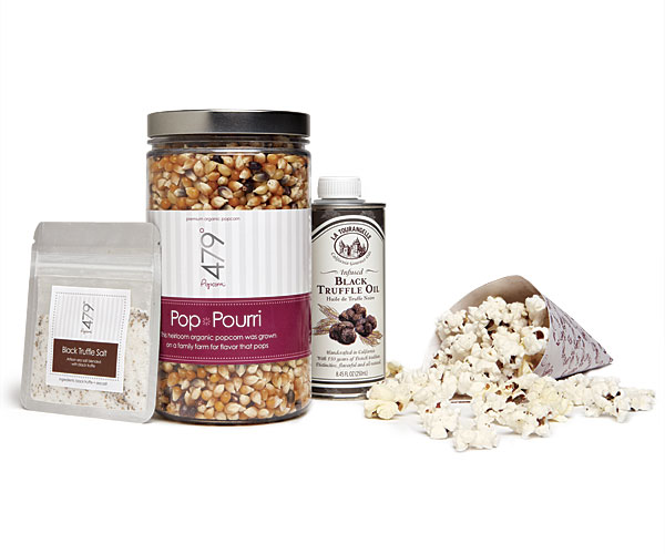 Pop it yourself truffled popcorn article finecooking 45 for a kit at 479popcorn 888 479 9866 solutioingenieria Choice Image