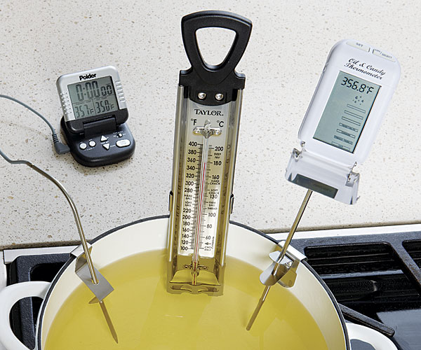 Deep Fry Thermometers Article Finecooking