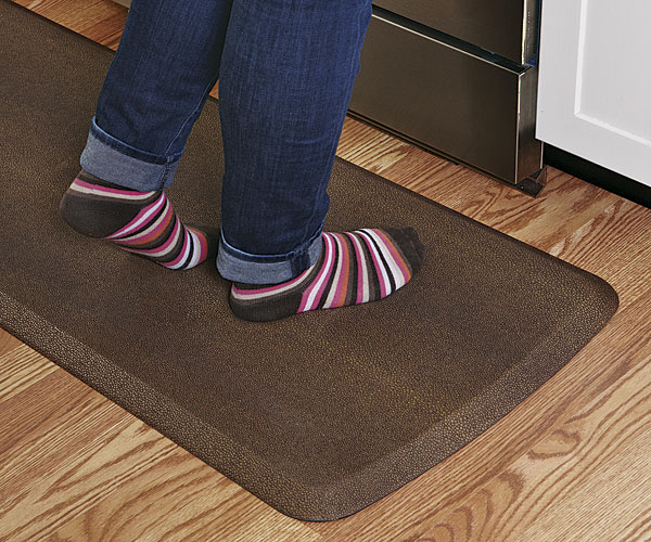 kitchen floor pad happy kitchen floor mats article finecooking 1657