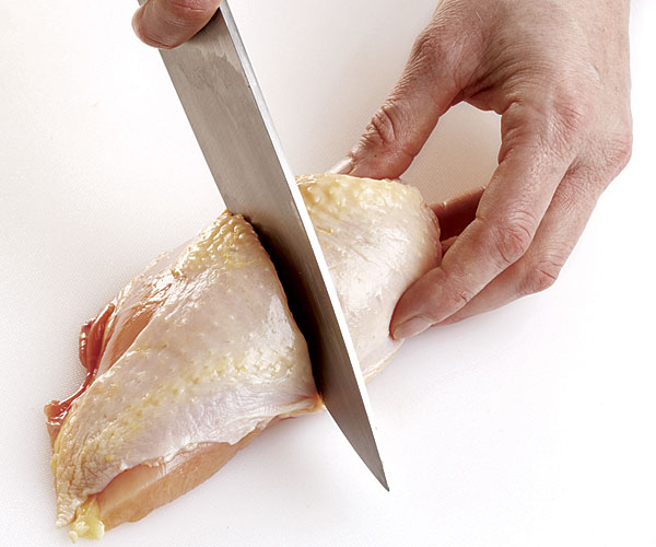 How to Cut a Whole Chicken Into Pieces - Article - FineCooking