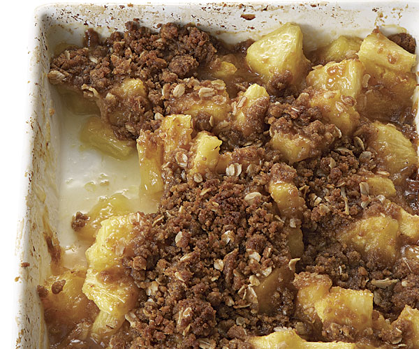 Pineapple-Ginger Brown Sugar Crisp