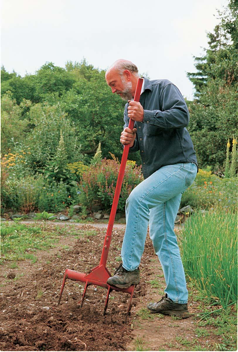 losing up soil