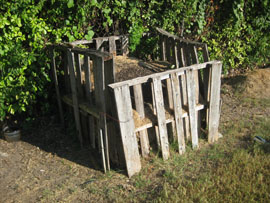 old compost bin