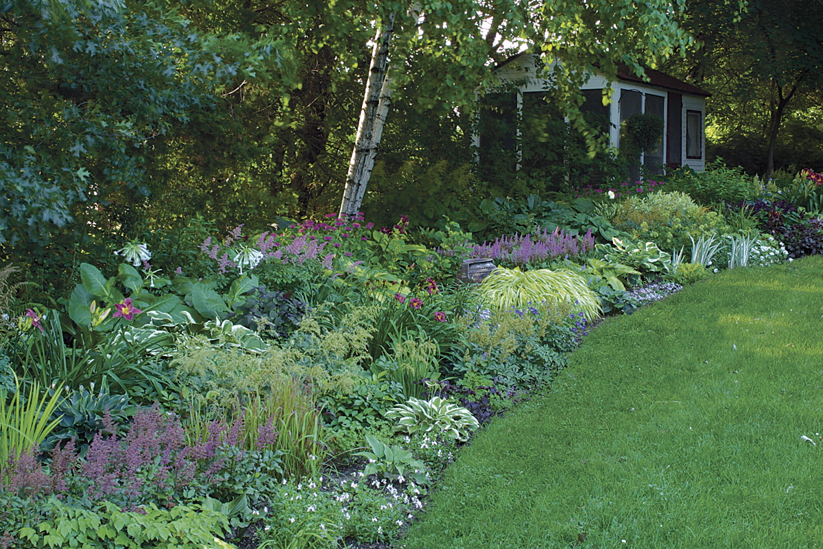A Strategy for a Long Border - FineGardening on