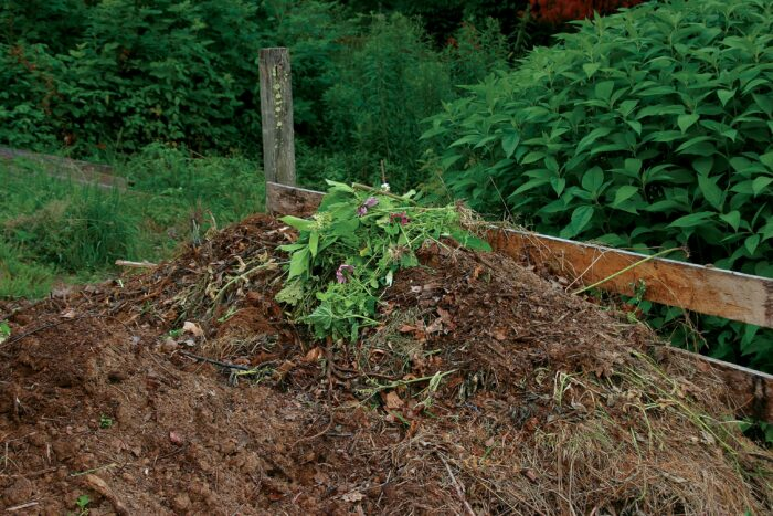 piling compost has zero cost