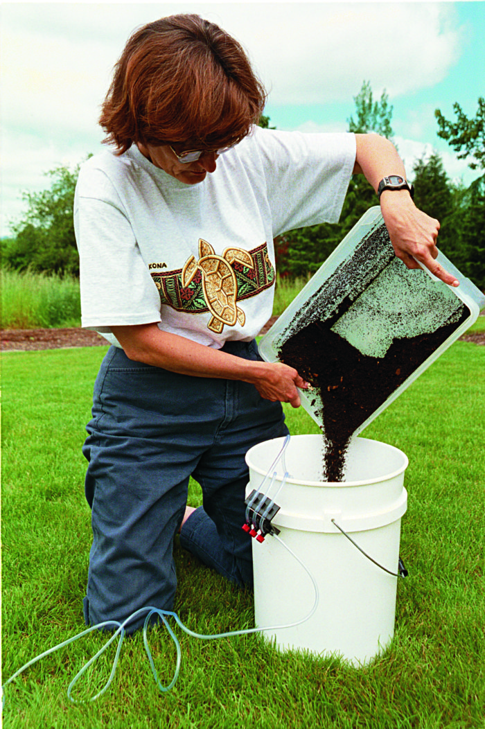 Brewing Compost Tea - FineGardening