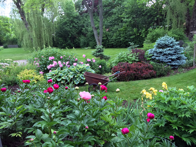 Bon Anna Tsai Of Bayside, Wisconsin Has Worked Hard To Create This Special  Garden.