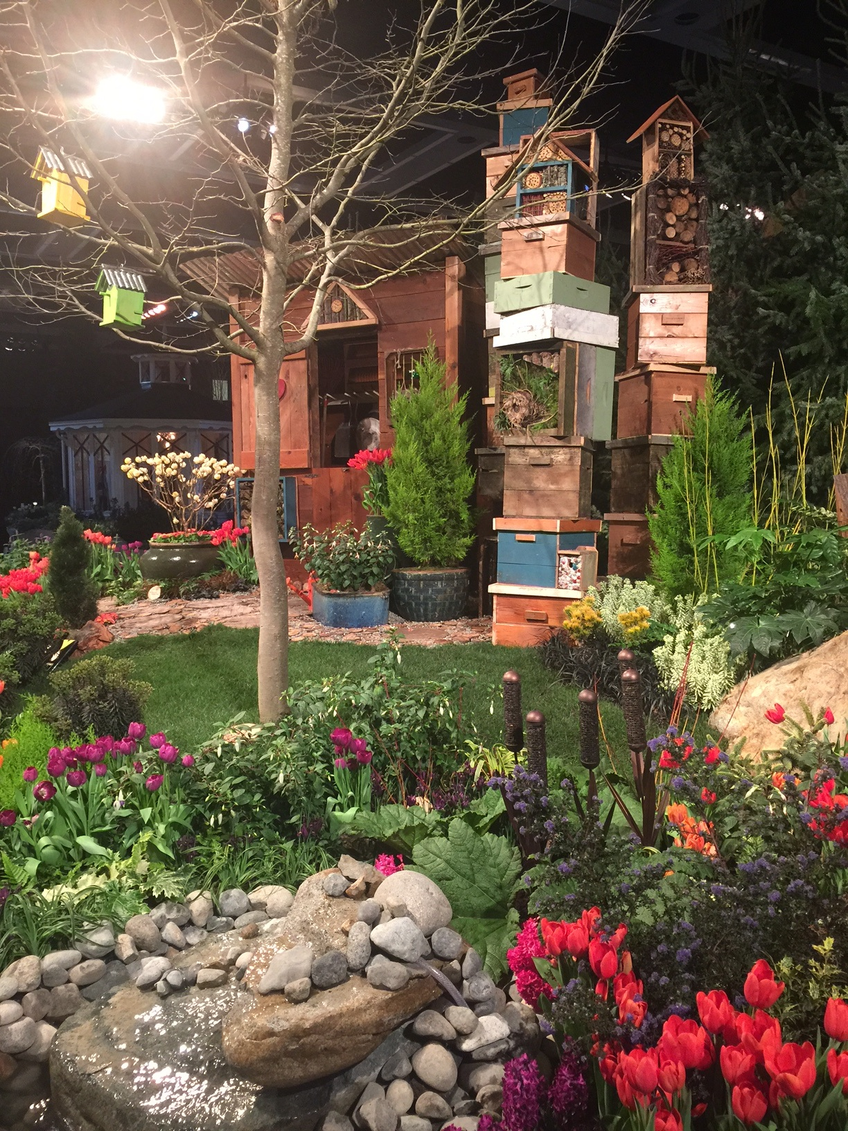 Snapshots from the gardens at the Northwest Flower and Garden Show ...