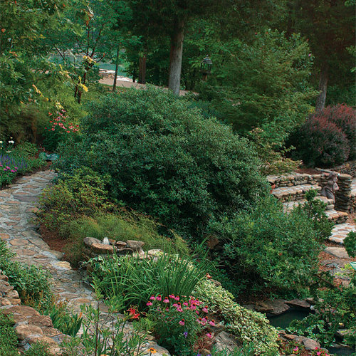 Designing With Curved Terraces Finegardening